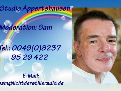 19.05.2018 - Tauche ein ins Feld der unendlichen Möglichkeiten - LdSR Nacht Cafe - Sam Jesus Moses J