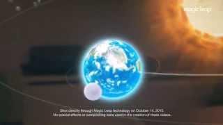 Erstes Echtes Hologramm? - Irres Video zeigt Sonnensystem mitten im Raum! Wal in Sporthalle!